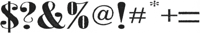 Jerome Two Wide otf (400) Font OTHER CHARS