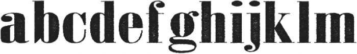 Jerome Two Wide otf (400) Font LOWERCASE
