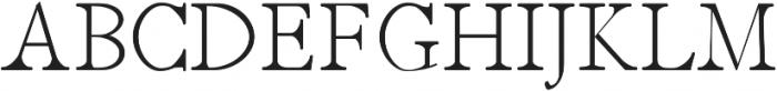 Jerricca Light otf (300) Font UPPERCASE