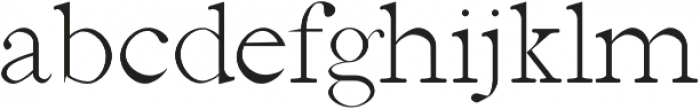 Jerricca Light otf (300) Font LOWERCASE