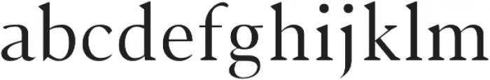 Jerrick otf (400) Font LOWERCASE