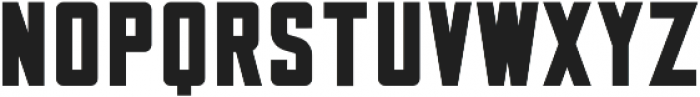Jersey Bold Typeface Jersey Bold Typeface ttf (700) Font LOWERCASE
