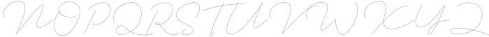 Jet Seat Script otf (400) Font UPPERCASE