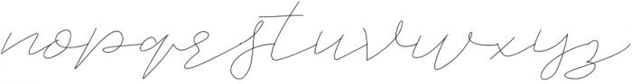 Jet Seat Script otf (400) Font LOWERCASE
