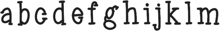 jelliesandjams ttf (400) Font LOWERCASE