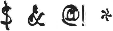 jello otf (400) Font OTHER CHARS