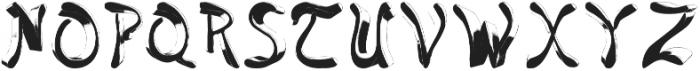 jello otf (400) Font UPPERCASE