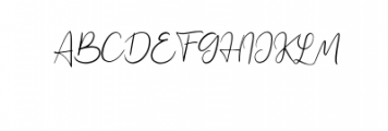 Jennifer.ttf Font UPPERCASE