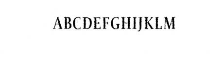 Jerrick-BoldDistorted.otf Font UPPERCASE