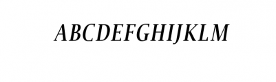Jerrick-BoldItalic.otf Font UPPERCASE