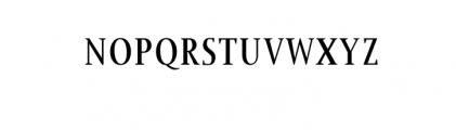 Jerrick-Bold.woff Font UPPERCASE