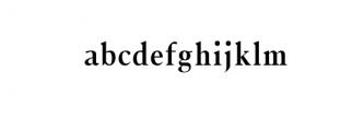 Jerrick-Bold.woff Font LOWERCASE