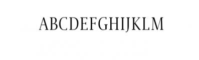 Jerrick-Regular.ttf Font UPPERCASE