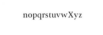Jerrick-Regular.ttf Font LOWERCASE