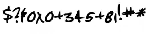 Jenkins v2.0 Thik Font OTHER CHARS