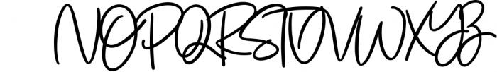 Jenifa Script Font Font UPPERCASE