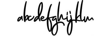 Jenifa Script Font Font LOWERCASE