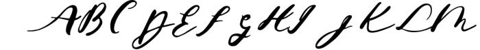 Jeniffer Script Font UPPERCASE