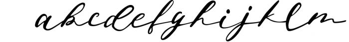 Jeniffer Script Font LOWERCASE