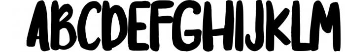 Jeopardize Font UPPERCASE
