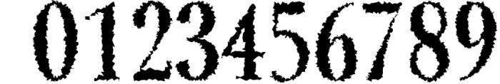 Jerrick Serif 6 Font Pack 2 Font OTHER CHARS