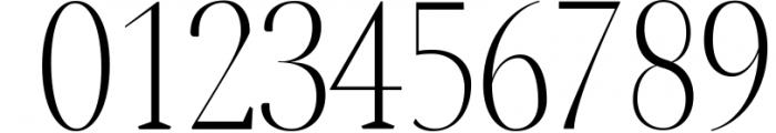 Jerrick Serif 6 Font Pack 3 Font OTHER CHARS