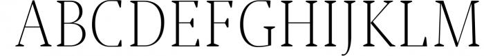 Jerrick Serif 6 Font Pack 3 Font UPPERCASE