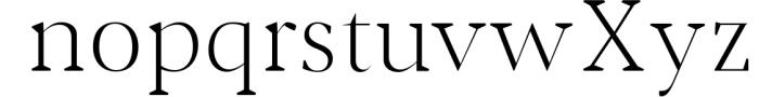 Jerrick Serif 6 Font Pack 3 Font LOWERCASE
