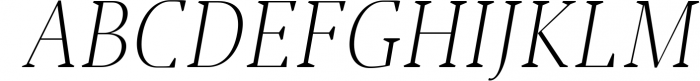 Jerrick Serif 6 Font Pack 5 Font UPPERCASE