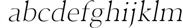 Jerrick Serif 6 Font Pack 5 Font LOWERCASE