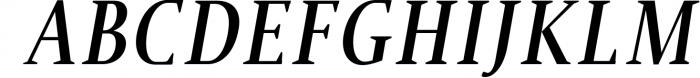 Jerrick Serif 6 Font Pack Font UPPERCASE