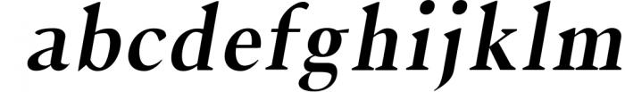 Jerrick Serif 6 Font Pack Font LOWERCASE