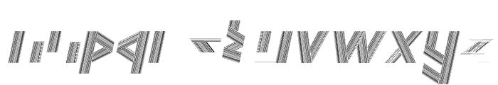 JELANG Italic Font LOWERCASE