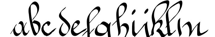 Jeannette Font LOWERCASE