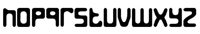 Jed the Humanoid Font LOWERCASE