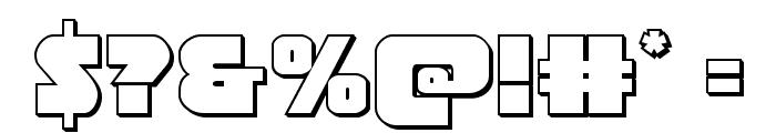 Jedi Special Forces 3D Regular Font OTHER CHARS