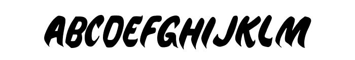 Jeepney Brush Font LOWERCASE