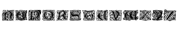 Jeff Regular Font UPPERCASE