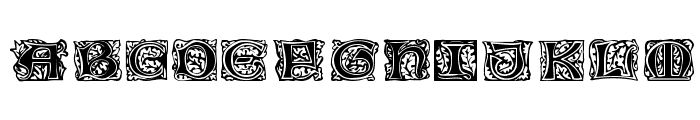 Jeff Regular Font LOWERCASE