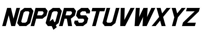 Jefferies Bold Italic Font UPPERCASE