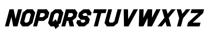 Jefferies Bold Italic Font LOWERCASE