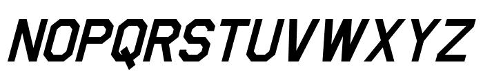Jefferies Italic Font UPPERCASE