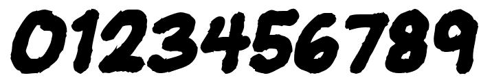 JeffreyPrint JL Bold Italic Font OTHER CHARS