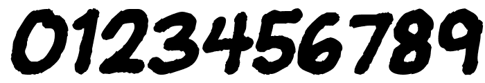 JeffreyPrint JL Italic Font OTHER CHARS