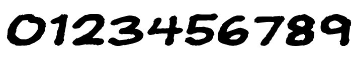 JeffreyPrint JL Wide Italic Font OTHER CHARS
