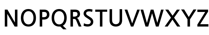 JejuGothic Font UPPERCASE
