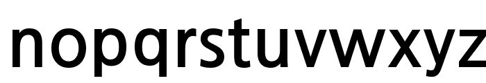 JejuGothic Font LOWERCASE