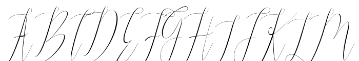 Jelisa Font UPPERCASE