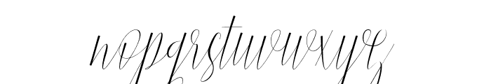 Jelisa Font LOWERCASE