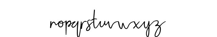 Jellaine-Bold Font LOWERCASE
